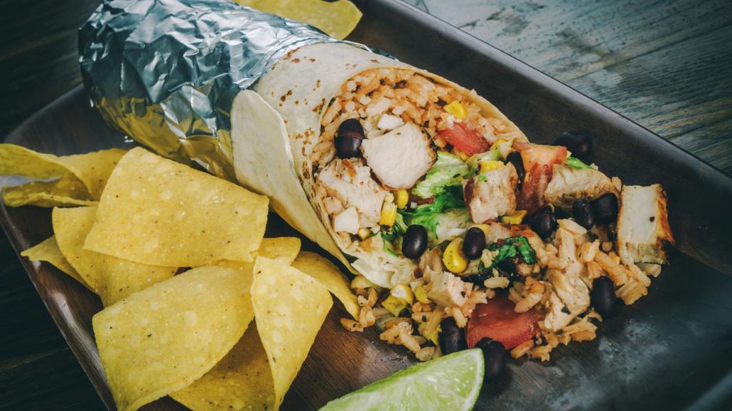 Chiloso Mexican Bistro Burrito